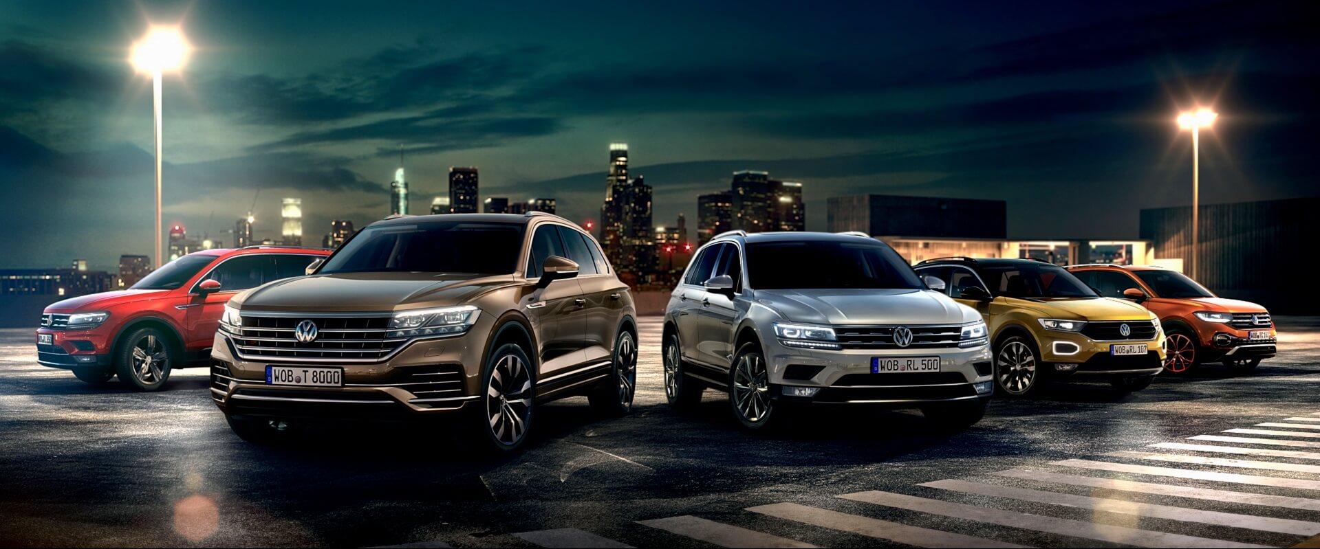 Γκάμα αυτοκινήτων Volkswagen SUV