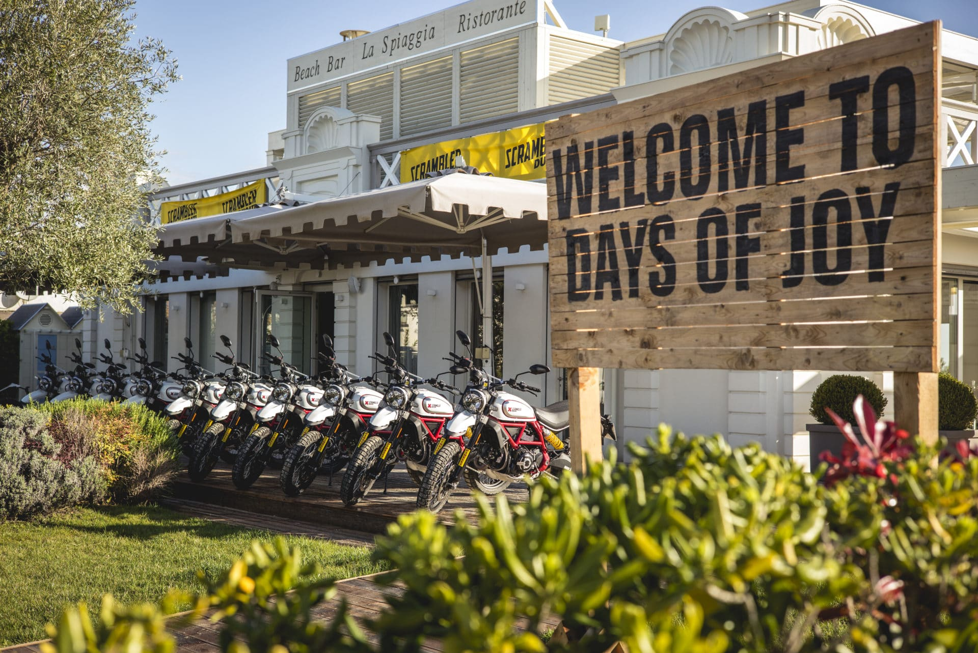 Ducati Scrambler - Days of Joy