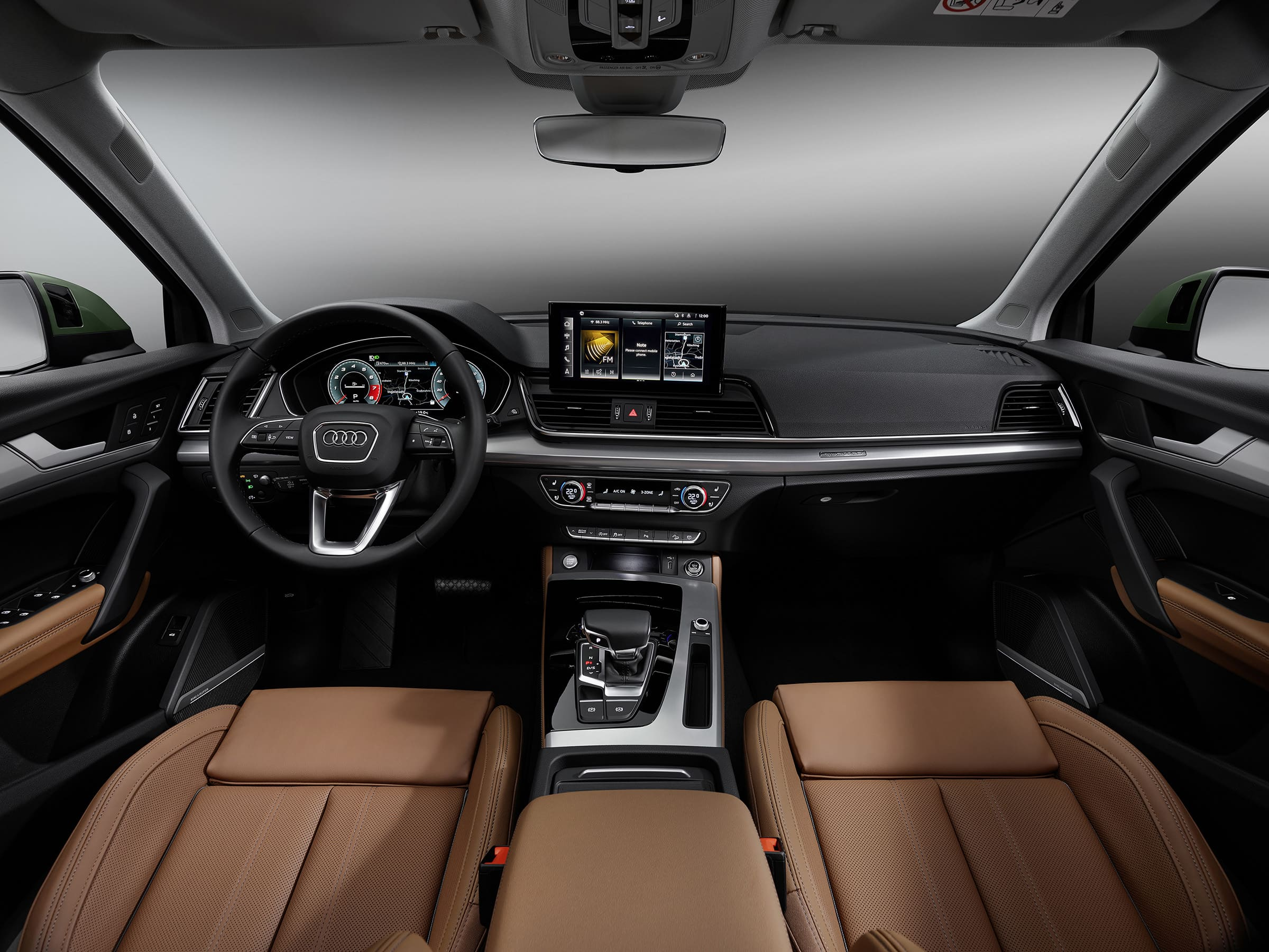 Infotainment και Audi connect για κορυφαία συνδεσιμότητα στο Audi Q5