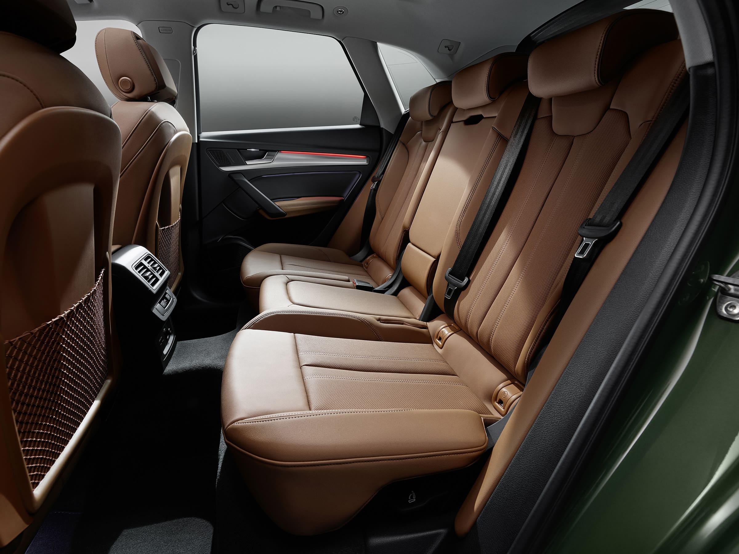 Ο εσωτερικός σχεδιασμός του Audi Q5. Αίσθηση ευρυχωρίας, άνεσης και κορυφαίας ποιότητας