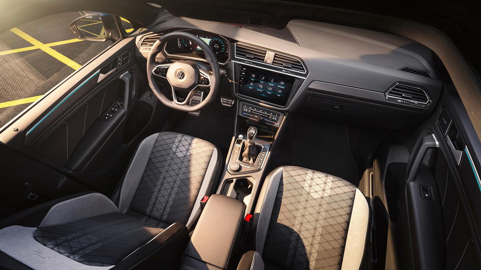 Νέο Volkswagen Tiguan - Εσωτερικό - Μοναδικός εσωτερικός εξοπλισμός