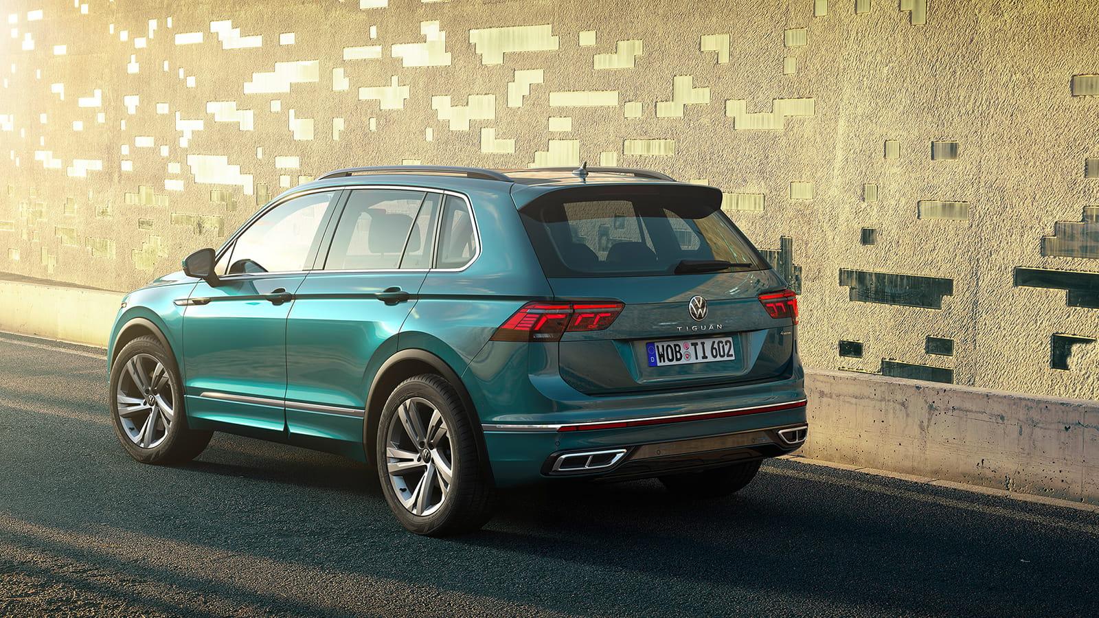 Νέο Volkswagen Tiguan - Πίσω όψη
