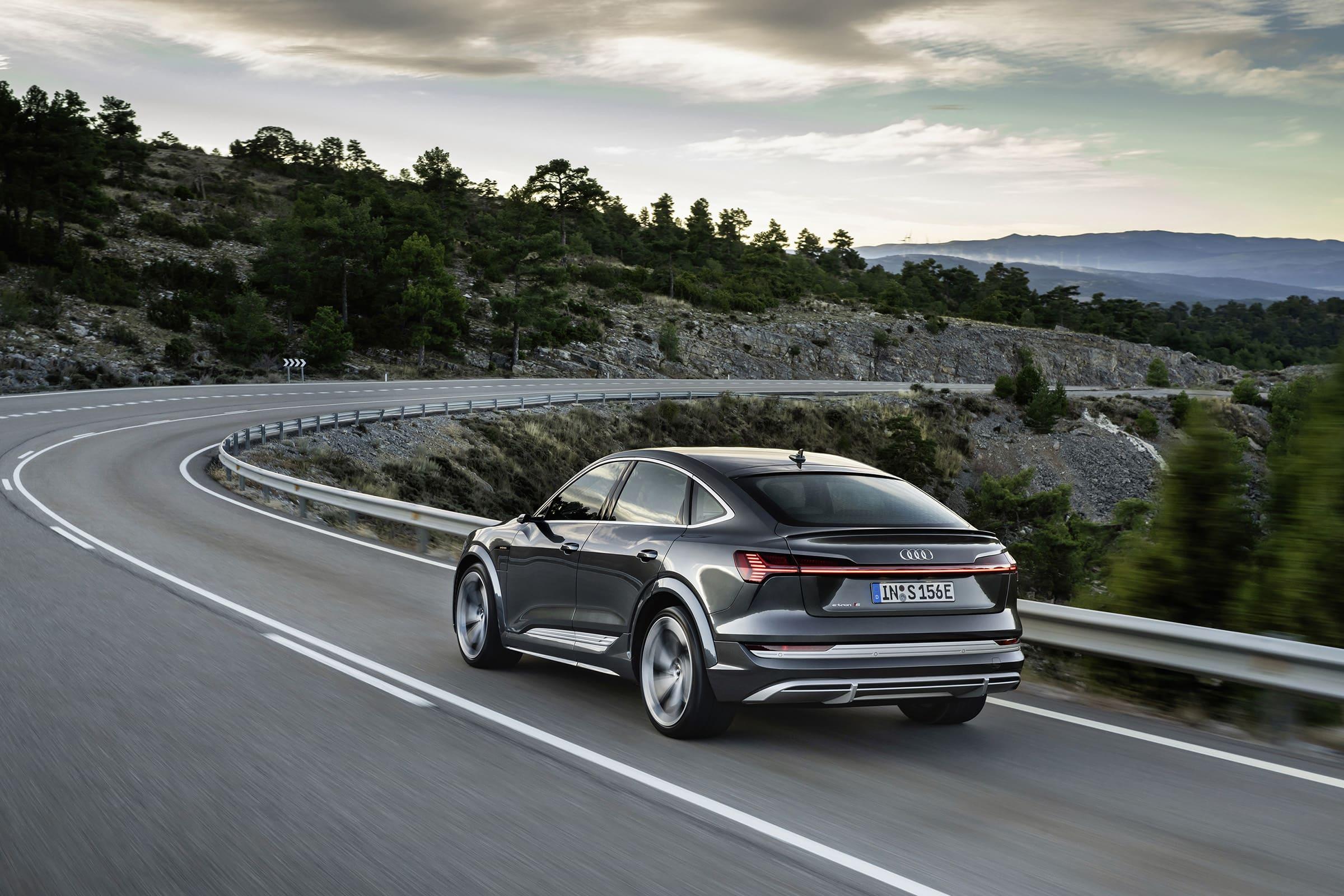 Audi e-tron ??S Sportback - Εξωτερικός σχεδιασμός