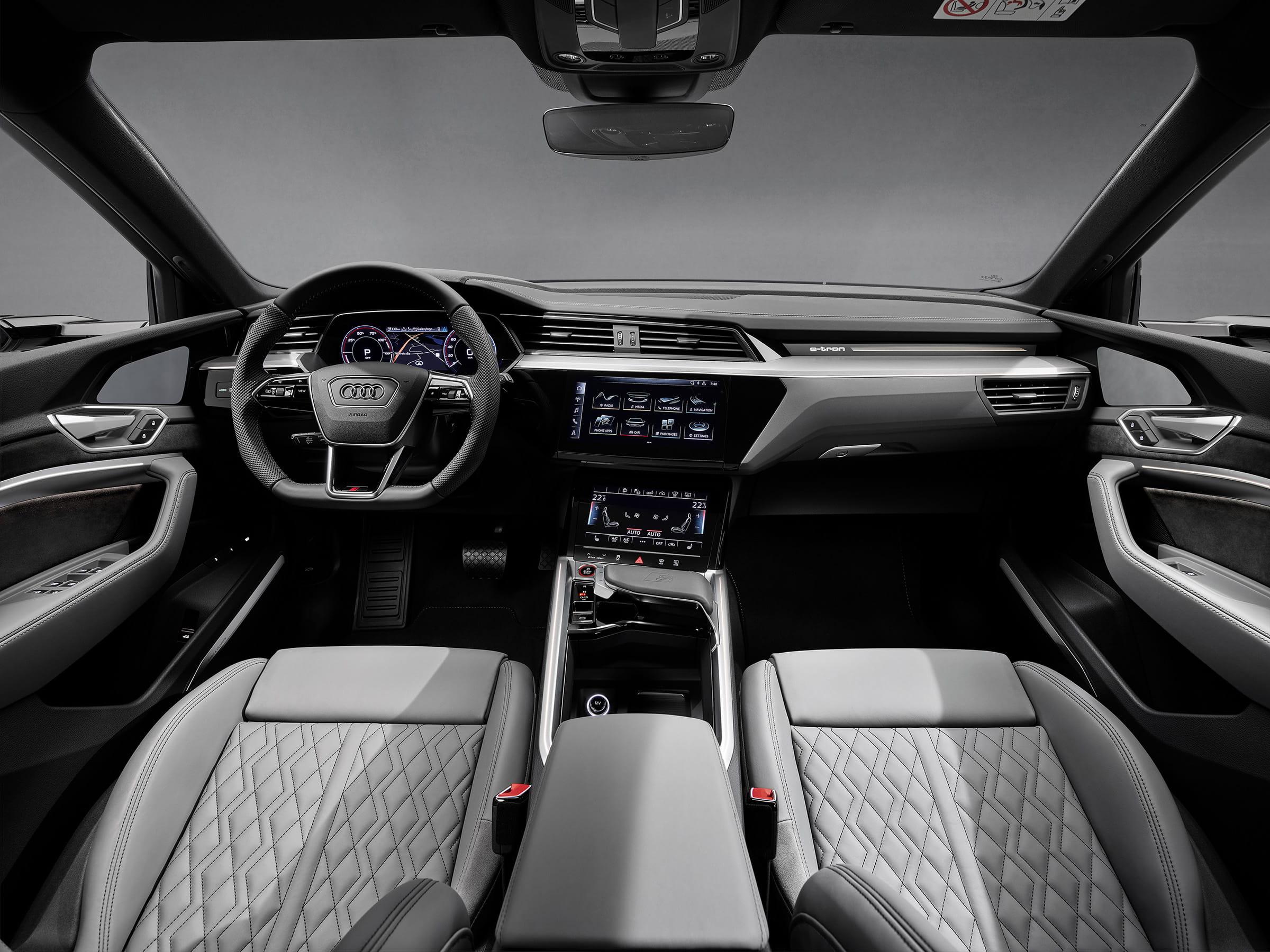 Εσωτερικό και εξοπλισμός των Audi e-tron S και e-tron S Sportback