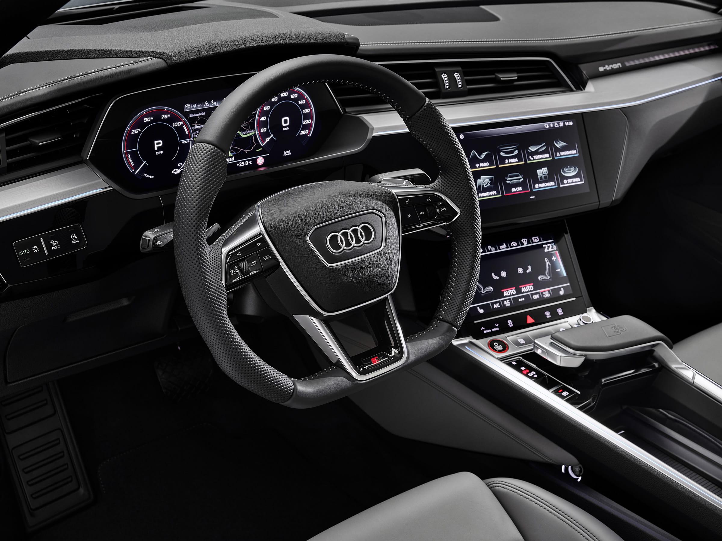 Audi e-tron S και e-tron S Sportback - Συστήματα ελέγχου, ψυχαγωγίας και βοήθειας