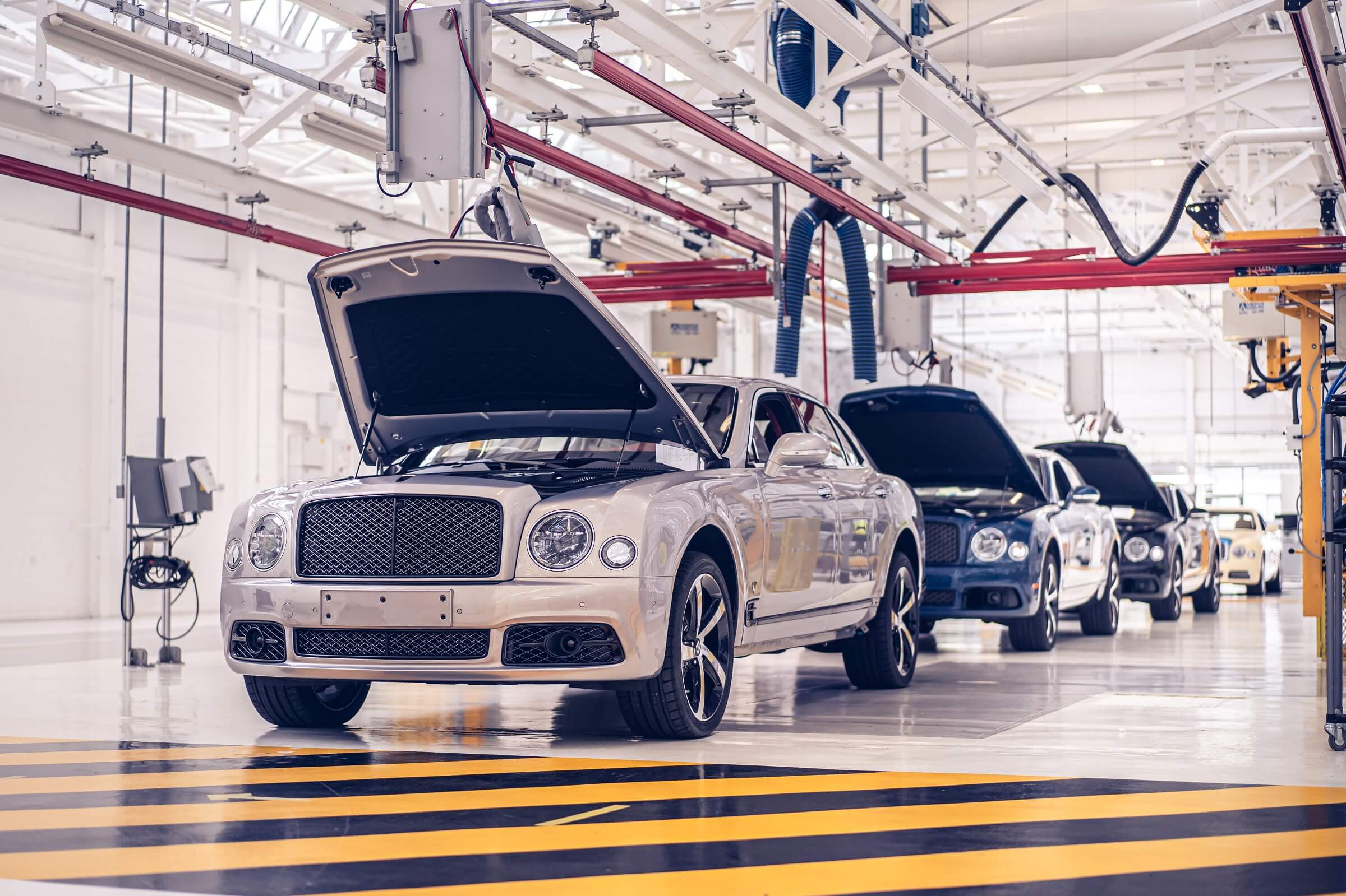 Bentley Mulsanne - Το τέλος μιας εποχής - Η παραγωγή