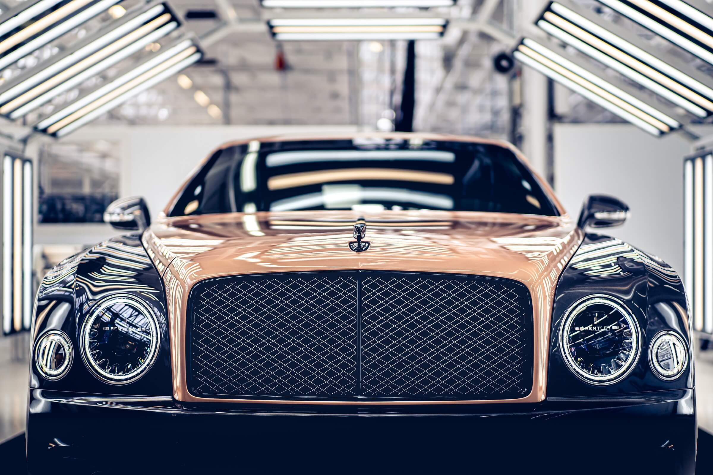Bentley Mulsanne - Το τέλος μιας εποχής - Εμπρός όψη λεπτομέρεια