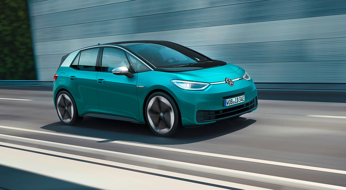 Volkswagen ID.3 1st edition σε κίνηση