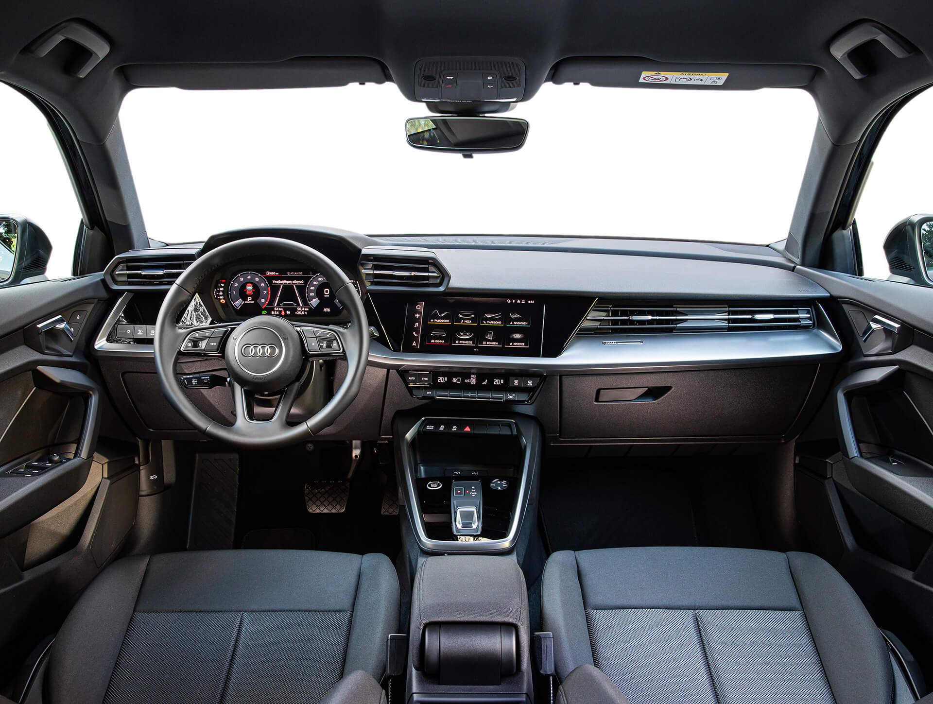 Νέο Audi A3 Sportback - Εσωτερικό υψηλής ποιότητας