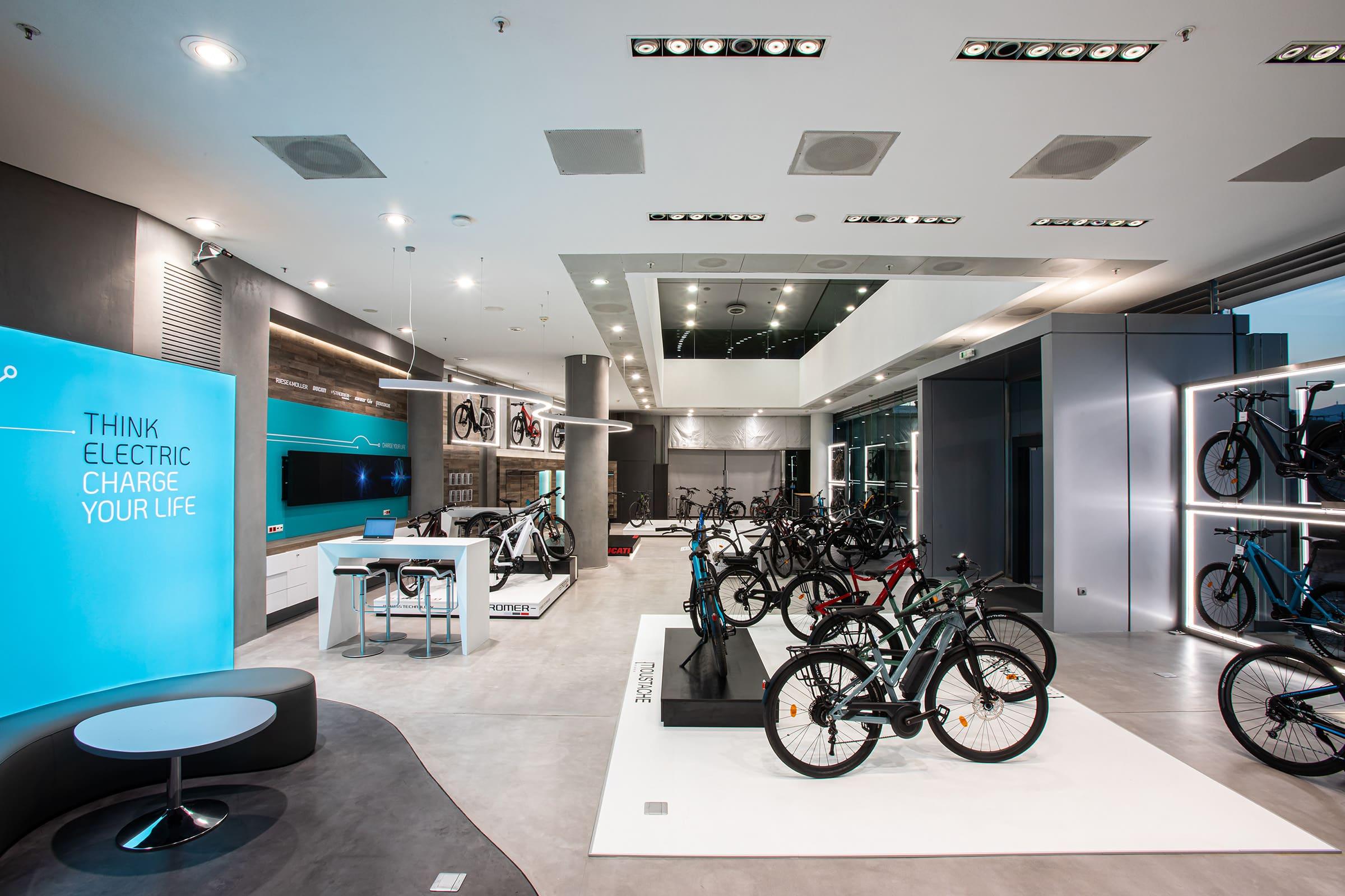 Kosmoride e-Bikes experience store