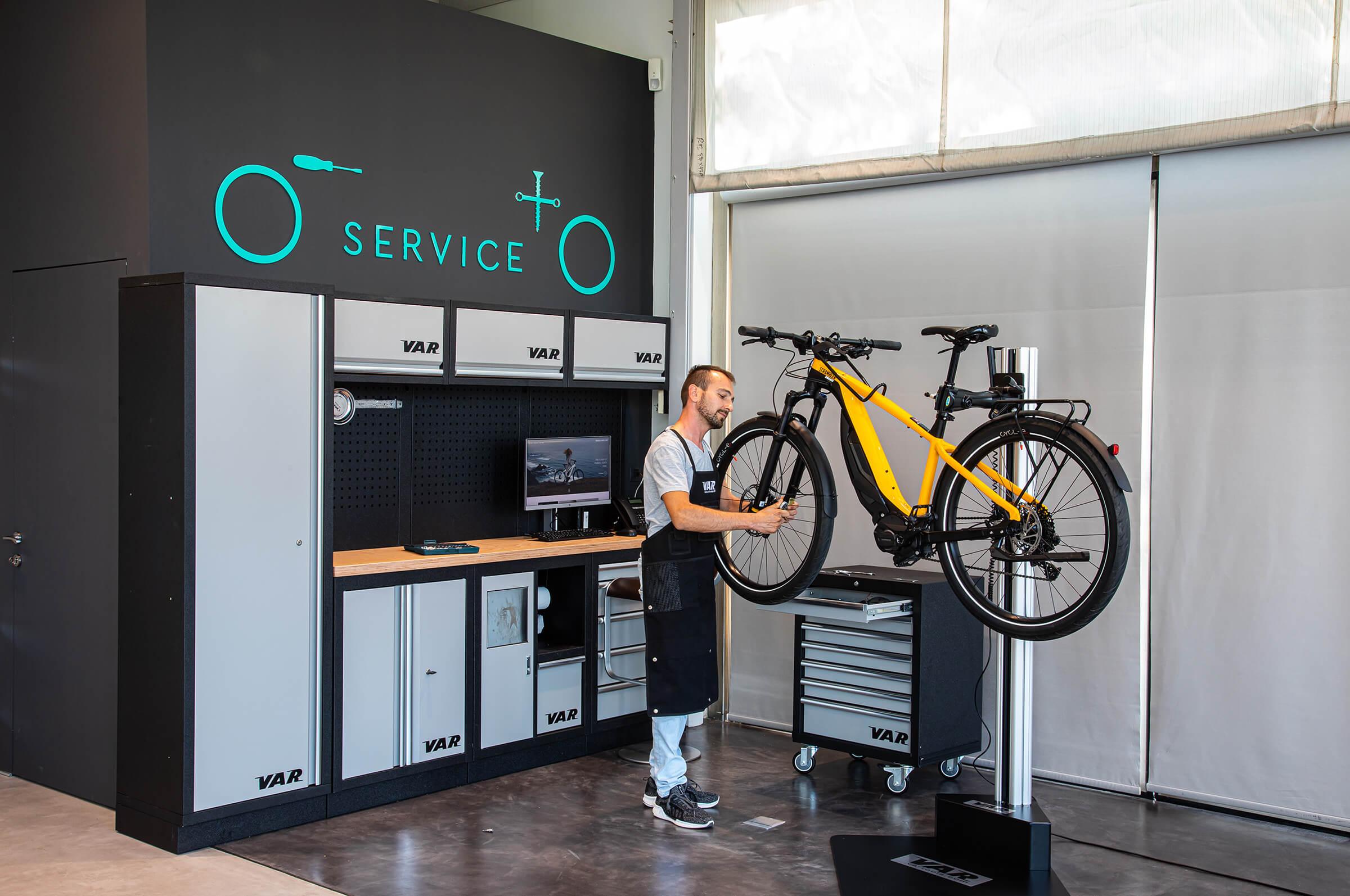 Kosmoride After Sales - Εξειδικευμένο service e-Bikes