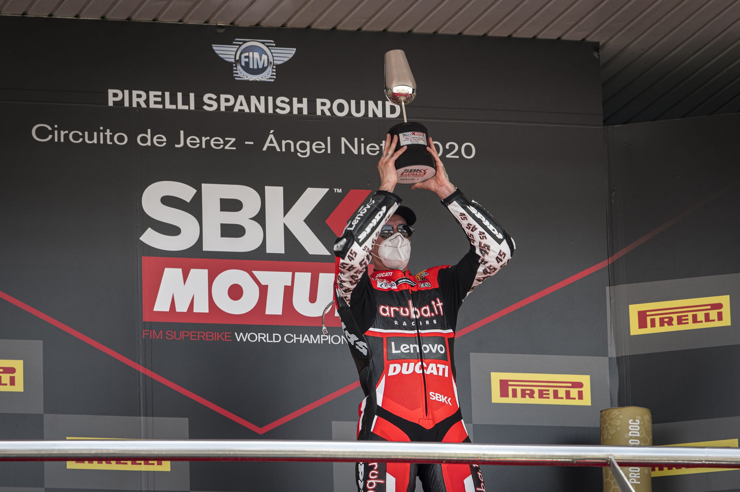 Aruba.it Racing Ducati - Spanish Round 2020 - Scott Redding